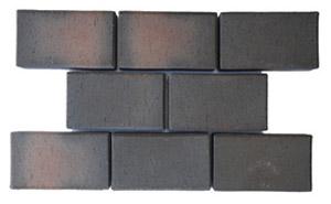 Тротуарная клинкерная брусчатка ЛСР (RAUF Design) Франкфурт редуцированная 200*100*50 мм