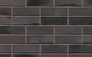 Кирпич клинкерный пустотелый Muhr 15 Schwarz-bunt Edelganz гладкий