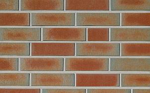 Клинкерная фасадная плитка Roben Spessart Bunt рельефная NF14