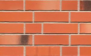 Клинкерная фасадная плитка Feldhaus Klinker R985 bacco terracotta matiz