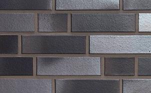 Фасадная плитка ручной формовки Feldhaus Klinker R518 geo platinum liso