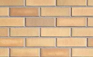 Клинкерная фасадная плитка Roben Rimini Geld-bunt гладкая NF14
