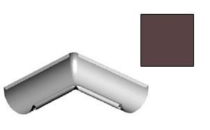 Угол желоба внутренний CM Vattern коричневый 135 град.