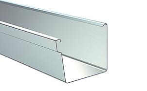 Желоб водосточный прямоугольный LINDAB RER сталь