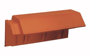 Керамическая черепица пультовая Koramic Tradi 12 (Tradi Nova) Copper Brown Engobe