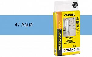 Затирка для швов weber.vetonit Deco 47 Aqua