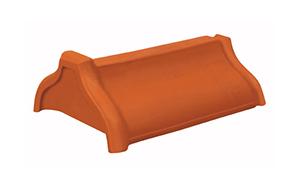 Керамическая черепица начальная коньковая Koramic № 8 Altrot