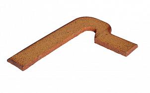 Клинкерный плитнус ступени правый Gres de Breda Natural модель B