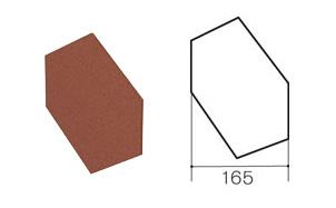 Заглушка треугольного конька Gerard Sapphire