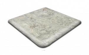 Клинкерная угловая ступень-флорентинер Gres Aragon Itaca Gris