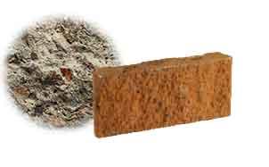 Облицовочный бетонный камень рядовой Меликонполар СКЦ 2Л-17 серый