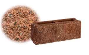Облицовочный бетонный камень торцевой Меликонполар СКЦ 2Л-9 гранитный