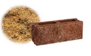 Облицовочный бетонный камень торцевой Меликонполар СКЦ 2Л-9 бежевый