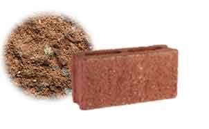 Облицовочный бетонный камень рядовой Меликонполар СКЦ 2Л-4 коричневый 3%
