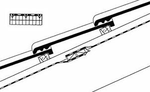 Вентиляционный элемент нижней защитной плёнки BRAAS черный