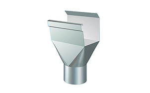 Воронка приемная прямоугольная LINDAB REOK сталь