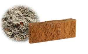 Облицовочный бетонный камень рядовой Меликонполар СКЦ 2Л-11 серый
