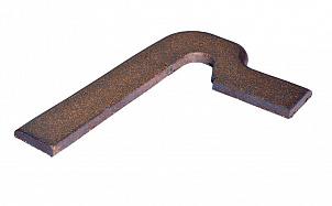 Клинкерный плинтус ступеней правый Gres de Breda Lava модель B