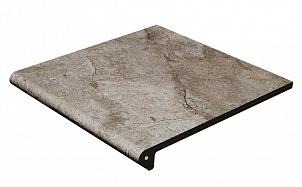Клинкерная ступень-флорентинер Gres Aragon Rocks Gris