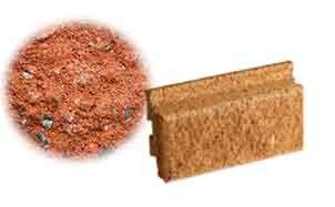 Облицовочный бетонный камень Меликонполар Polarik красный 3%