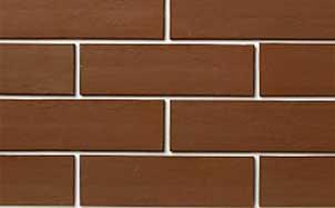Фасадная клинкерная плитка Экоклинкер шоколад гладкая