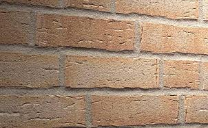 Фасадная плитка ручной формовки Feldhaus Klinker R681 sintra terracotta bario