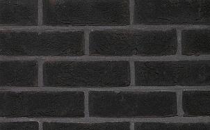 Кирпич облицовочный ручной формовки Terca Ombra (65mm Forum Charcoal)