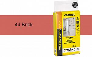 Затирка для швов weber.vetonit Deco 44 Brick