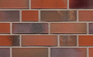 Клинкерная фасадная плитка Feldhaus Klinker R580 salina carmesi colori
