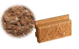 Облицовочный бетонный камень Меликонполар Polarik коричневый 3%