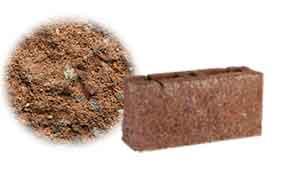 Облицовочный бетонный камень торцевой Меликонполар СКЦ 2Л-4 коричневый 3%