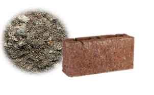 Облицовочный бетонный камень торцевой Меликонполар СКЦ 2Л-4 черный