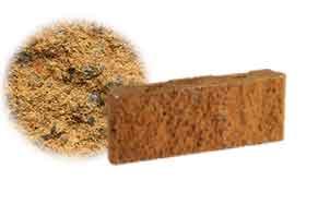Облицовочный бетонный камень рядовой Меликонполар СКЦ 2Л-11 бежевый