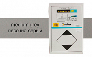 Затирка для швов weber.xerm 848 medium grey