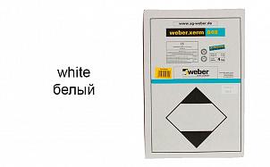 Затирка для швов weber.xerm 848 white