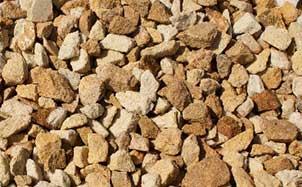 Крошка декоративная из песчаник желтый