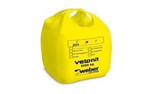 Безусадочный раствор weber.vetonit JB 600/5 P серый