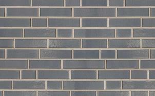 Клинкерная фасадная плитка ABC Dunkelgrau 380 гладкая