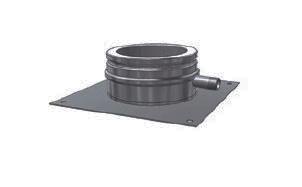 Основание с отводом конденсата SCHIEDEL ICS 25