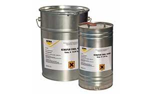Защитный полиуретановый матовый лак KEMAPUR V 7000 M (KEMAPUR FINAL 4000 M)