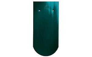 Керамическая черепица рядовая CREATON Klassik Biber Finesse grun glasiert зеленый