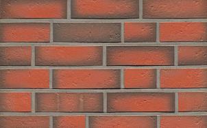 Клинкерная фасадная плитка Feldhaus Klinker R719 accudo terreno viva